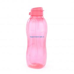 Эко-бутылка (1,5 л) в коралловом цвете