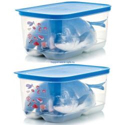 Контейнер «Умный холодильник» для мяса и рыбы (4,4 л), 2 шт.