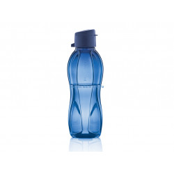 Эко-бутылка (500 мл) в синем цвете
