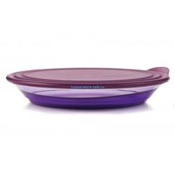 Блюдо «Элегантность» (1,5 л) фиолетовое