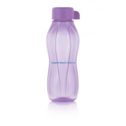 Эко-бутылка с винтовой крышкой (310 мл) в сиреневом цвете