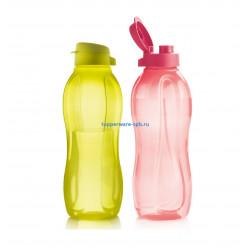 Эко-бутылка с клапаном (1,5л), 2шт.