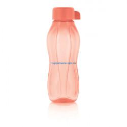 Эко-бутылка (310 мл) в коралловом цвете
