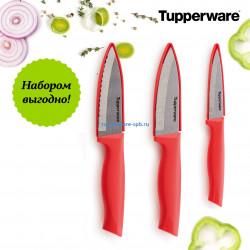 """Набор ножей """"Гурман"""": Разделочный нож; Нож для овощей; Универсальный нож."""