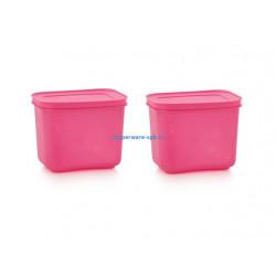 Охлаждающий лоток высокий (1,1 л), 2 шт. в розовом цвете
