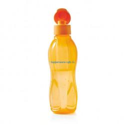 Эко-бутылка (750 мл) в оранжевом цвете
