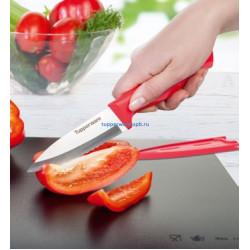 """Нож """"Гурман"""" для овощей с чехлом"""
