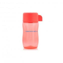 Эко-бутылка мини (90мл) коралловая