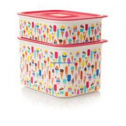 Набор контейнеров «Акваконтроль» «Мороженое» (500мл/ 1,3л)
