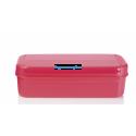Кристальная ёмкость  (1,1 л) розовая