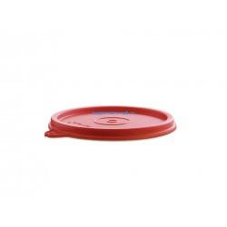 Дополнительная герметичная крышка в красном цвете